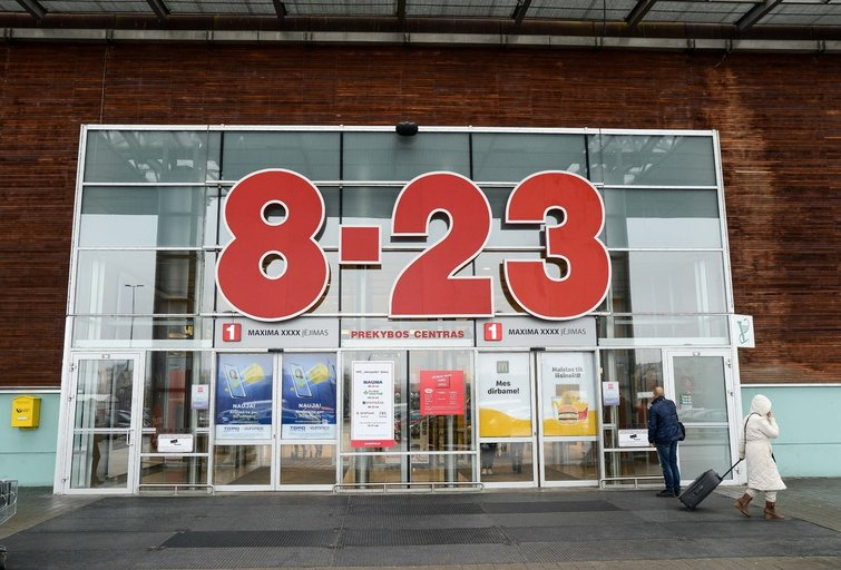 Prekybos centrai kol kas liks uždaryti (nuotr. Fotodiena/Justino Auškelio)