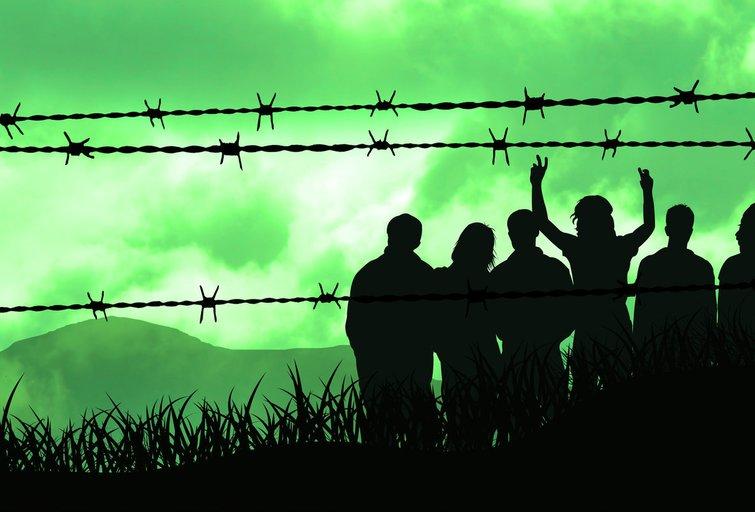 Migrantai (nuotr. Fotolia.com)