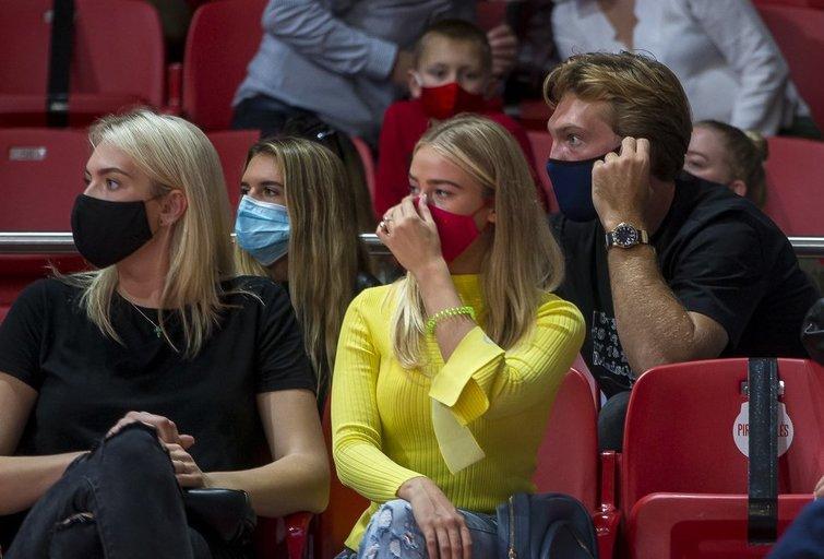 Rungtynių akimirkos (Roko Lukoševičiaus nuotr.)