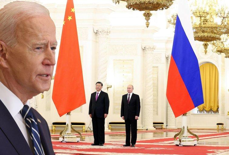 JAV prieš Rusiją ir Kiniją: ar galima autoritarinių valstybių sąjunga? (nuotr. SCANPIX) tv3.lt fotomontažas