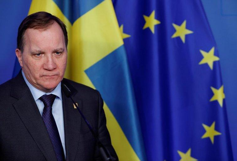 Švedijos premjeras Stefanas Lofvenas (nuotr. SCANPIX)