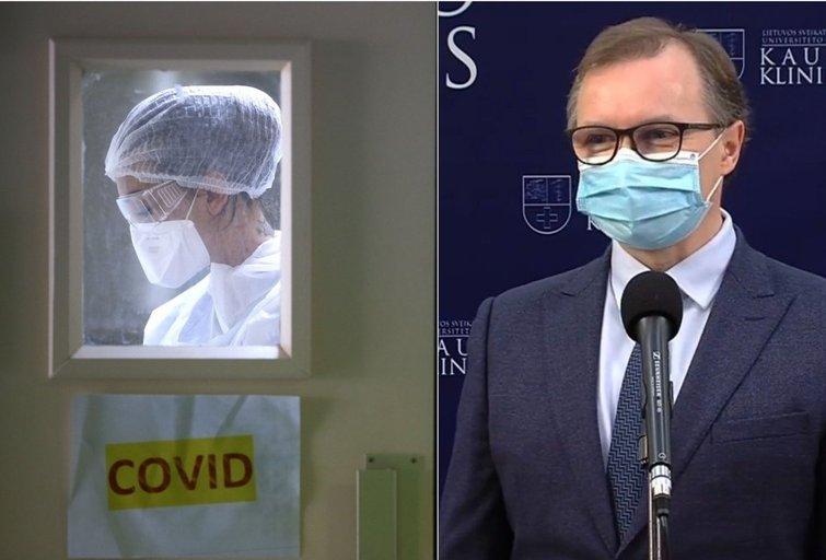 Renaldas Jurkevičius apie Lietuvoje plintančią britiškąją koronaviruso atmainą (tv3.lt fotomontažas)