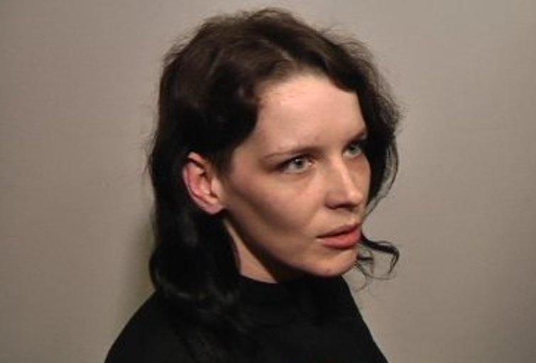 Monika Kaziukaitytė teisme (nuotr. TV3)