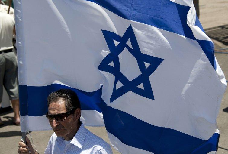 "Izraelio vėliava (""Scanpix"" nuotr.) (nuotr. Balsas.lt)"