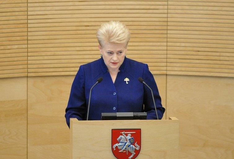 Prezidentė Dalia Grybauskaitė (nuotr. Fotodiena.lt)
