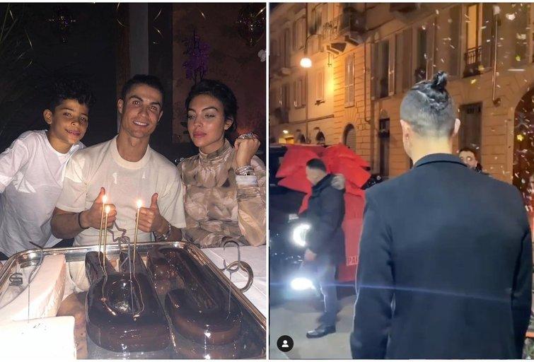 Cristiano Ronaldo sulaukė įspūdingos merginos dovanos (nuotr. Instagram)