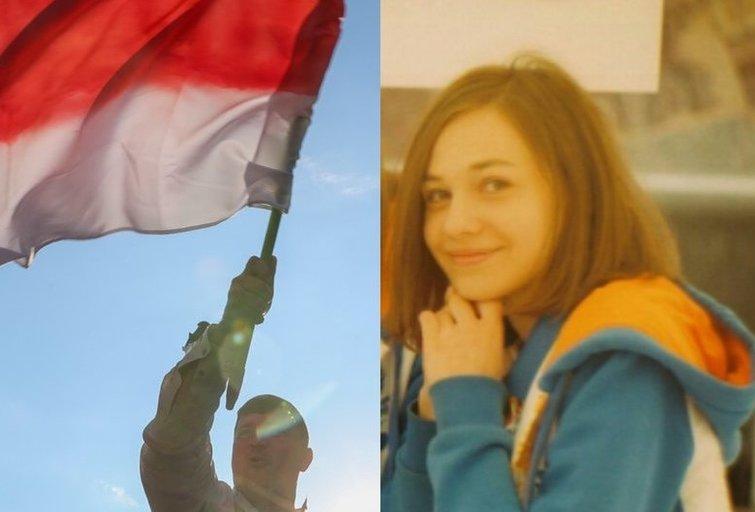Baltarusijoje kalinta mergina (nuotr. asm. archyvo)
