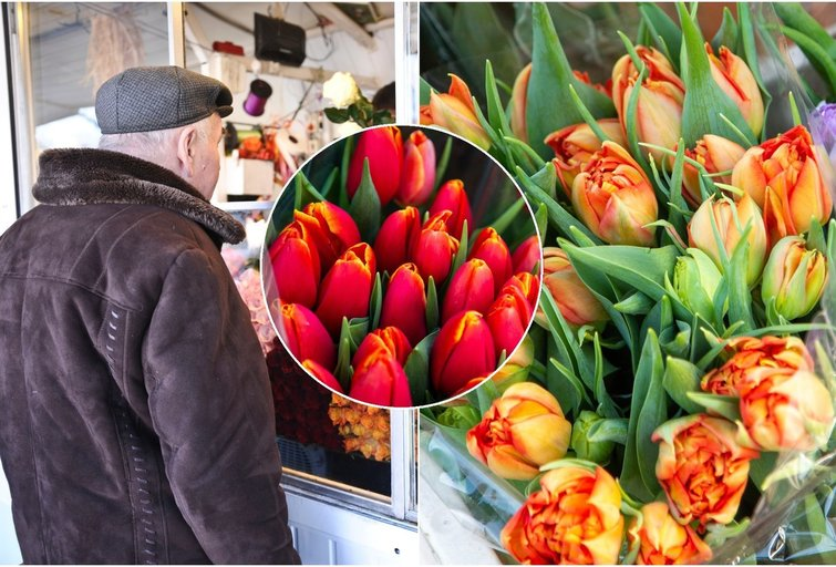 Neapsigaukite parduotuvėje: pasakė, kaip išsirinkti geriausias gėles