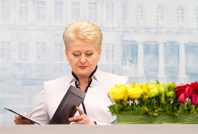 Dalia Grybauskaitė (nuotr. Balsas.lt/Ruslano Kondratjevo)