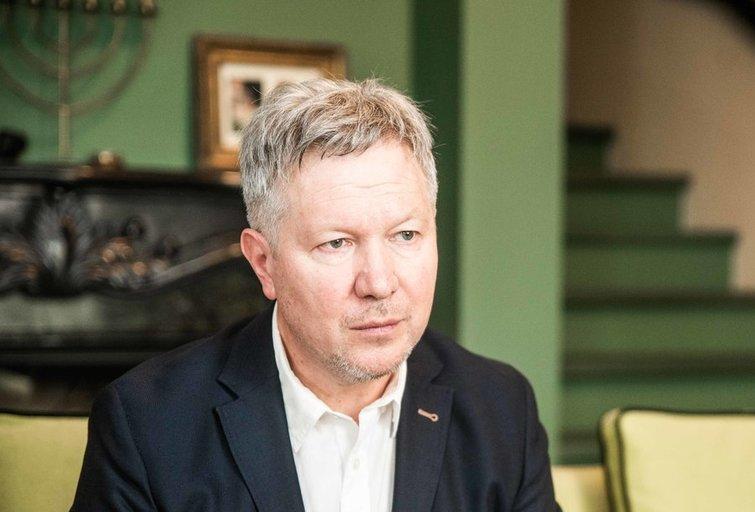 Istorikas Algimantas Kasparavičius (nuotr. Fotodiena/Arnas Strumila)