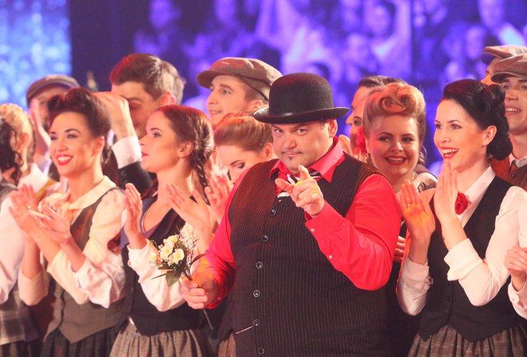 """Tautinių šokių projektas """"Kadagys""""  (nuotr. Tv3.lt/Ruslano Kondratjevo)"""