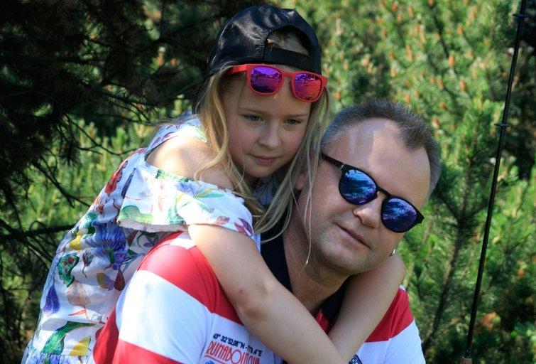 Saulius Urbonavičius-Samas su dukra Elena (nuotr. Tv3.lt/Ruslano Kondratjevo)