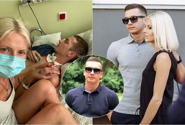 26-erių vilniečiui po avarijos medikai nedavė šansų išgyventi: žmona jo neapleido nė sekundei (nuotr. asm. archyvo)