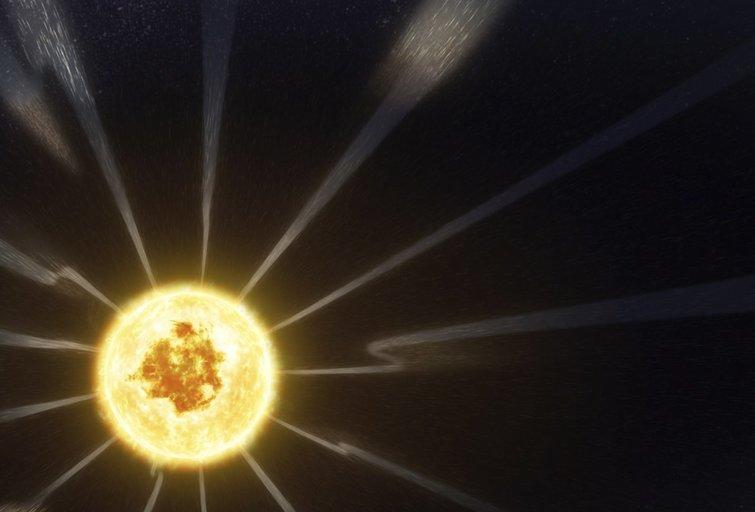 Saulės vėjas (nuotr. SCANPIX)