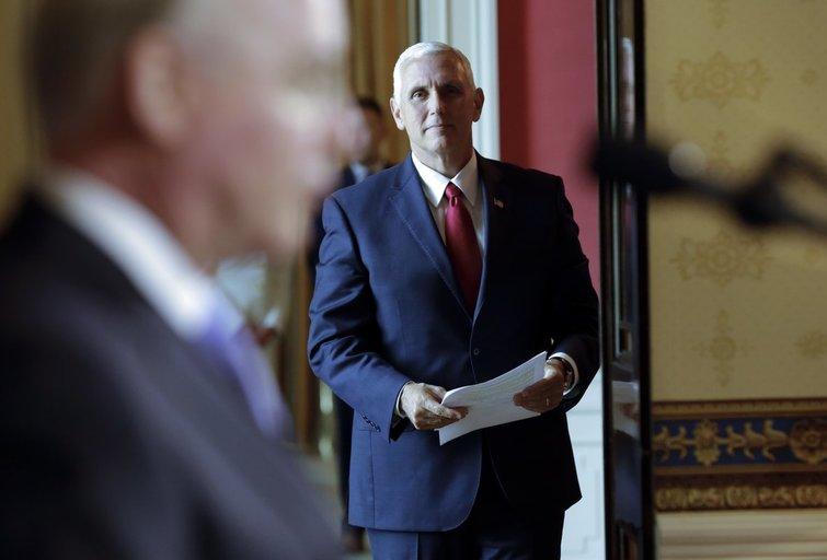 Mike Pence (nuotr. SCANPIX)