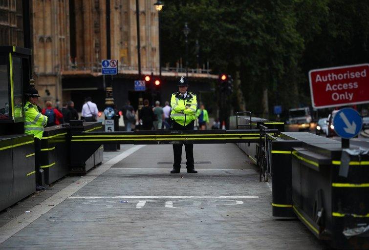 Išpuolis Londone prie parlamento rūmų  (nuotr. SCANPIX)