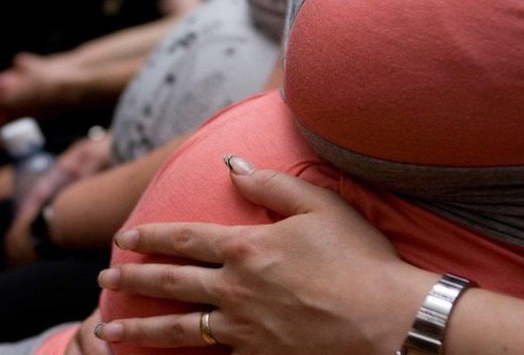 nėščioji (nuotr. Fotodiena.lt/Karolio Kavolėlio)
