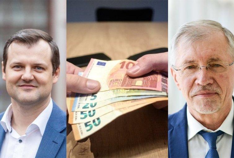 Į partijų ir savarankiškų kandidatų rinkimines sąskaitas gausiai pildo įvairiausi aukotojai (tv3.lt fotomontažas)