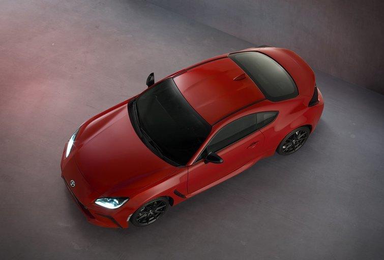 """Pristatytas naujas """"Toyota"""" automobilis (nuotr. Organizatorių)"""