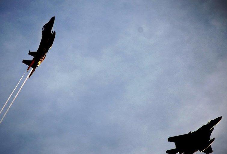 """Amerikiečių naikintuvas """"F-22"""" (nuotr. SCANPIX)"""