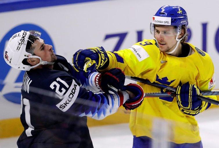 Švedijos rinktinė gina čempionės titulą (nuotr. SCANPIX)
