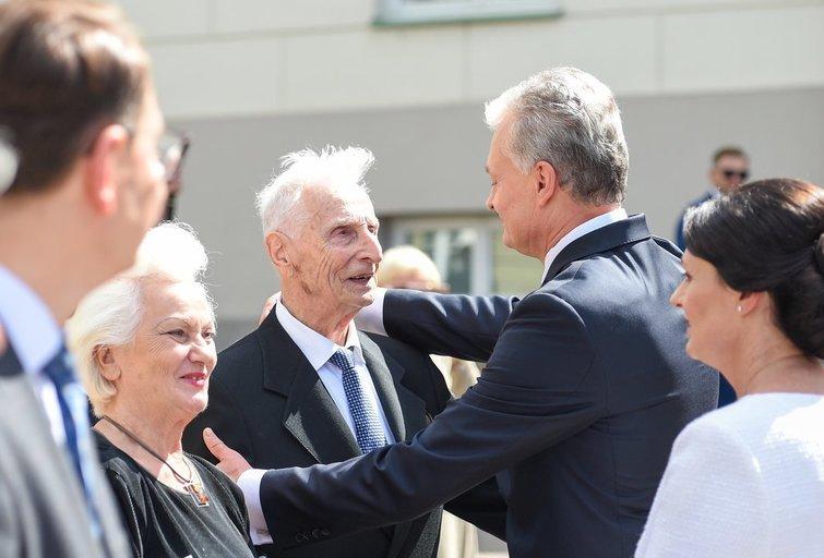 Antanas Nausėda ir Gitanas Nausėda Fotodiena/Arnas Strumila