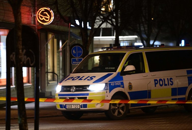 Švedijos policija (nuotr. SCANPIX)