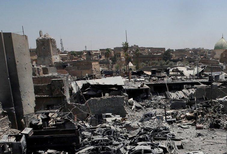 Irakas skelbia pergalę prieš ISIS (nuotr. SCANPIX)