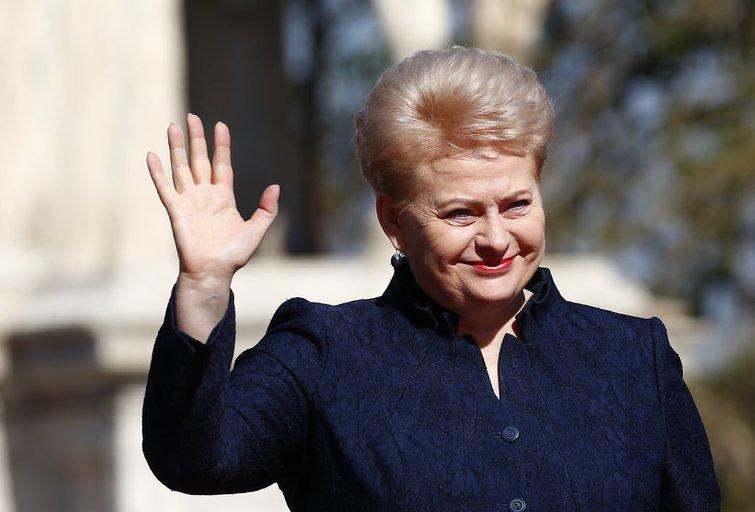 D.Grybauskaitė: Lietuva nori būti ES priešakyje (nuotr. SCANPIX)