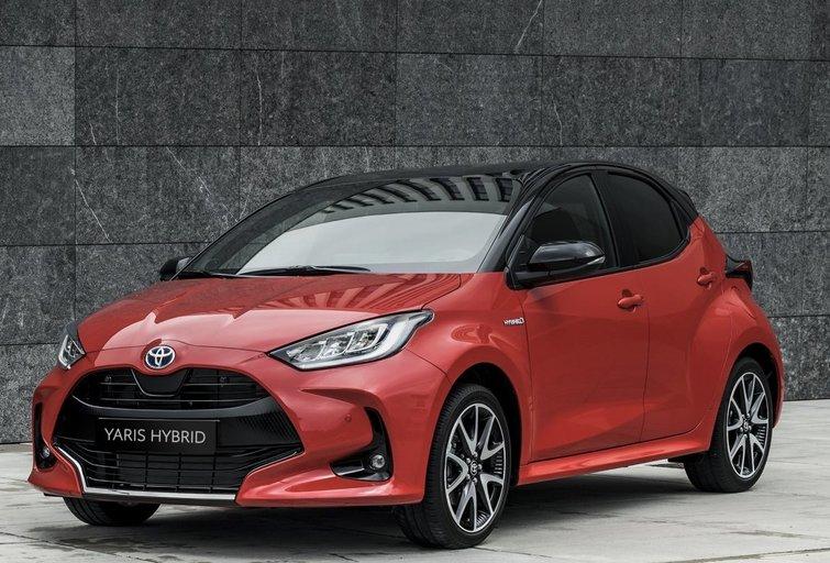 Toyota Yaris (gamintojo nuotr.)