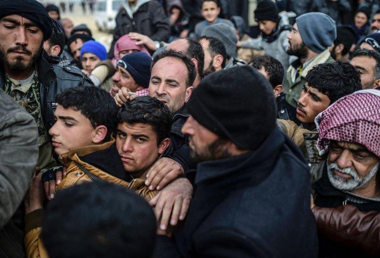 Sirų pabėgėliai (nuotr. SCANPIX)