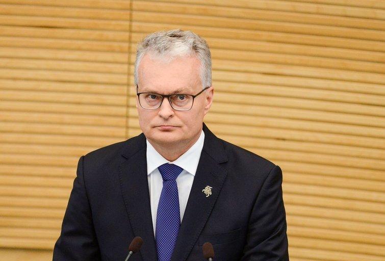 Prezidentas G. Nausėda (nuotr. Fotodiena/Justinas Auškelis)