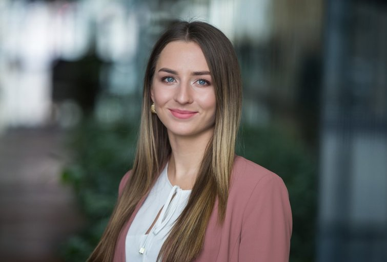 """Swedbank"" ekonomistė Greta Ilekytė (nuotr. ""Swedbank"")"