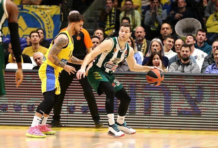 Rungtynių akimirka (nuotr. Euroleague Basketball)