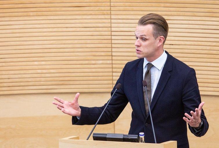 Politikas Gabrielius Landsbergis (Paulius Peleckis/Fotobankas)