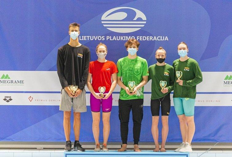Lietuvos plaukikai. (nuotr. Organizatorių)
