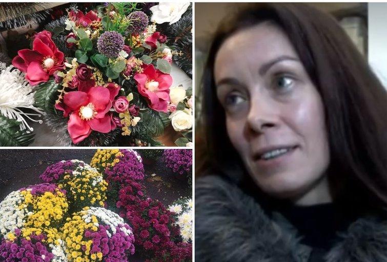 Šeškinės gėlių turgelis