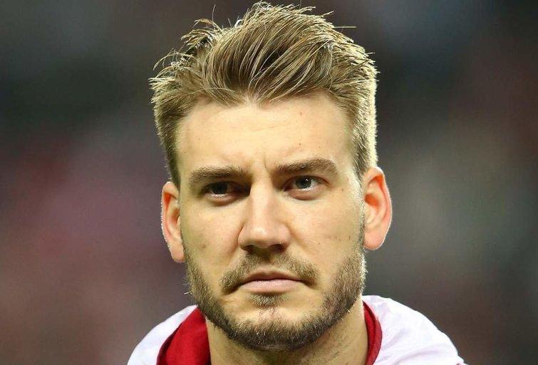 N. Bendtner akimirka (nuotr. Wikipedia)