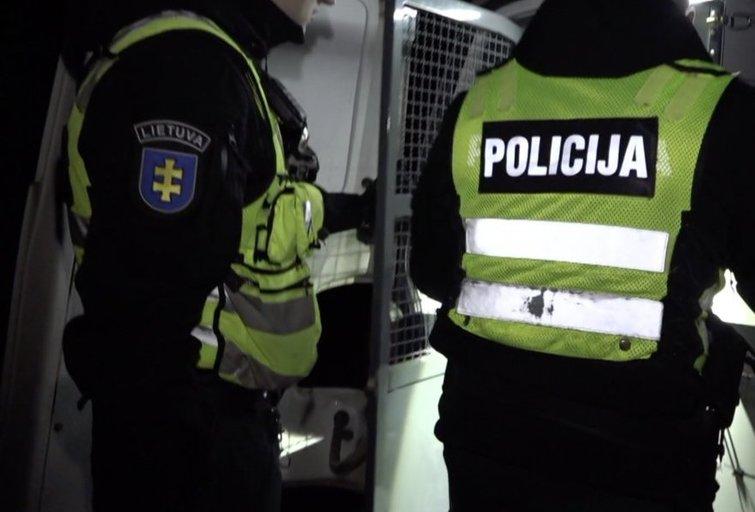 pareigūnai (nuotr. stop kadras)