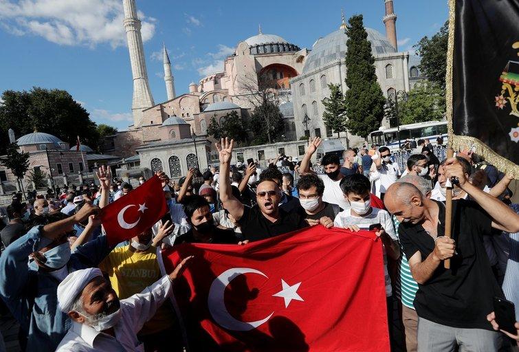 Turkijos teismas panaikino Švč. Išminties soboro muziejaus statusą  (nuotr. SCANPIX)