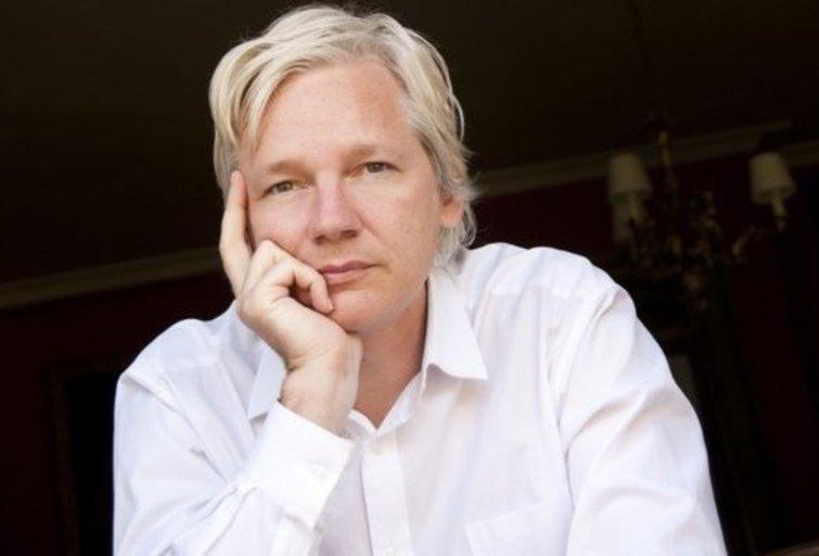 Julian Assange (nuotr. Organizatorių)