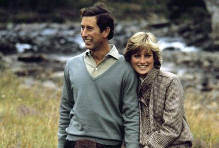 Princesė Diana ir princas Charles (nuotr. SCANPIX)