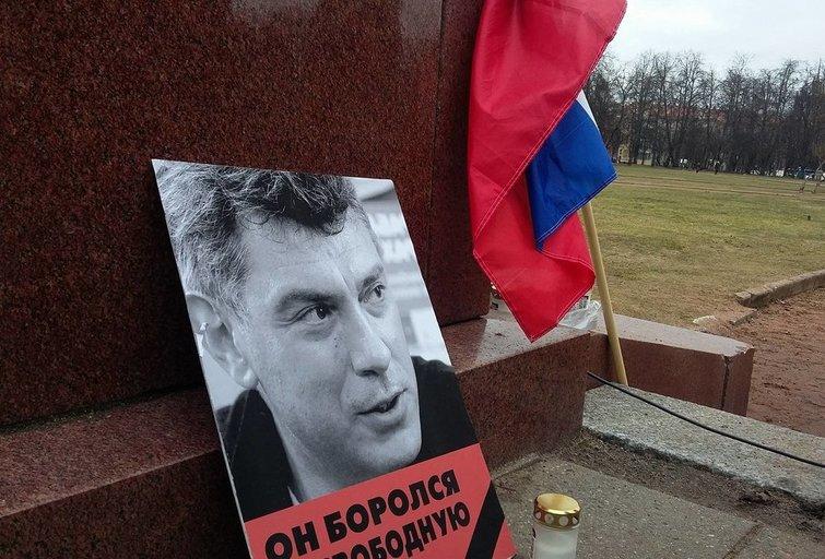 Vilniuje pagerbtas  Borisas Nemcovas (nuotr. TV3)