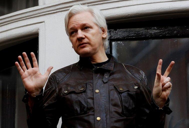 Julianas Assange (nuotr. SCANPIX)