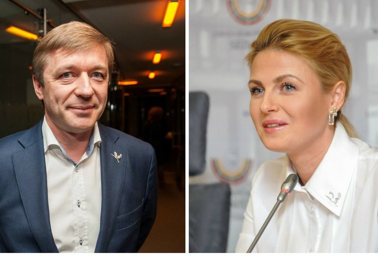 Karbauskis ir Kildišienė (nuotr. tv3.lt)