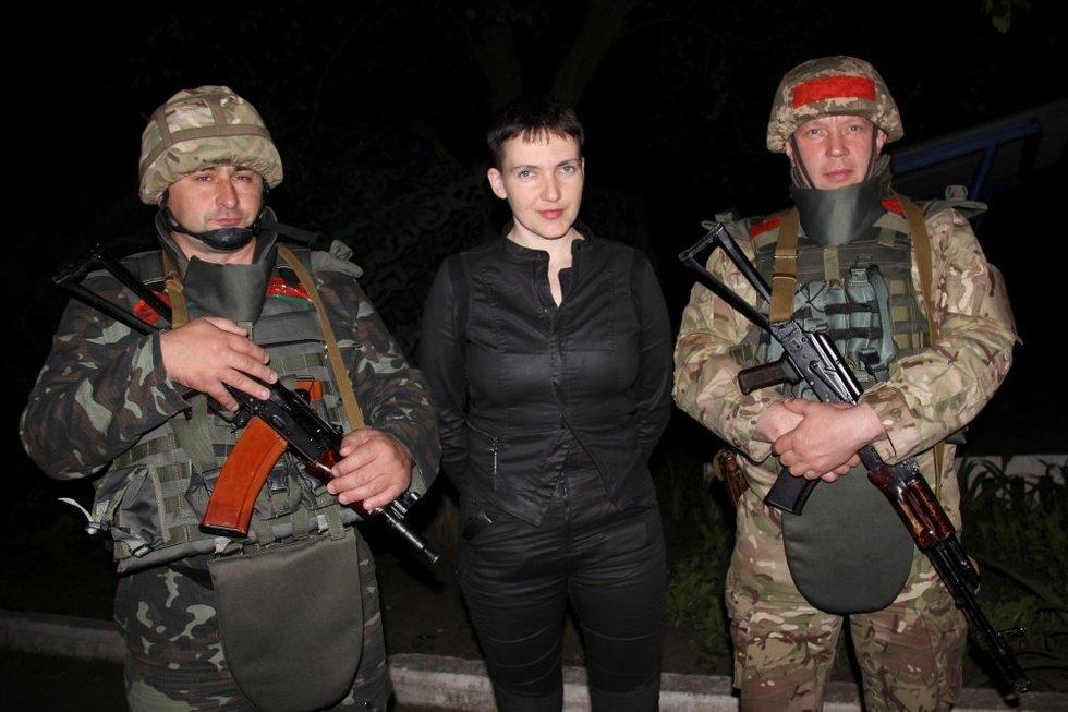 Nadija Savčenko: Rusija turi ambicijų sukelti Trečiąjį pasaulinį karą (nuotr. SCANPIX)