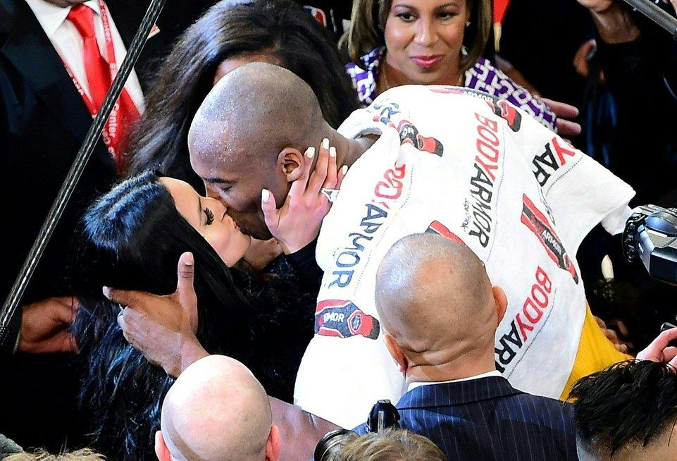 Kobe Bryant su žmona Vanessa