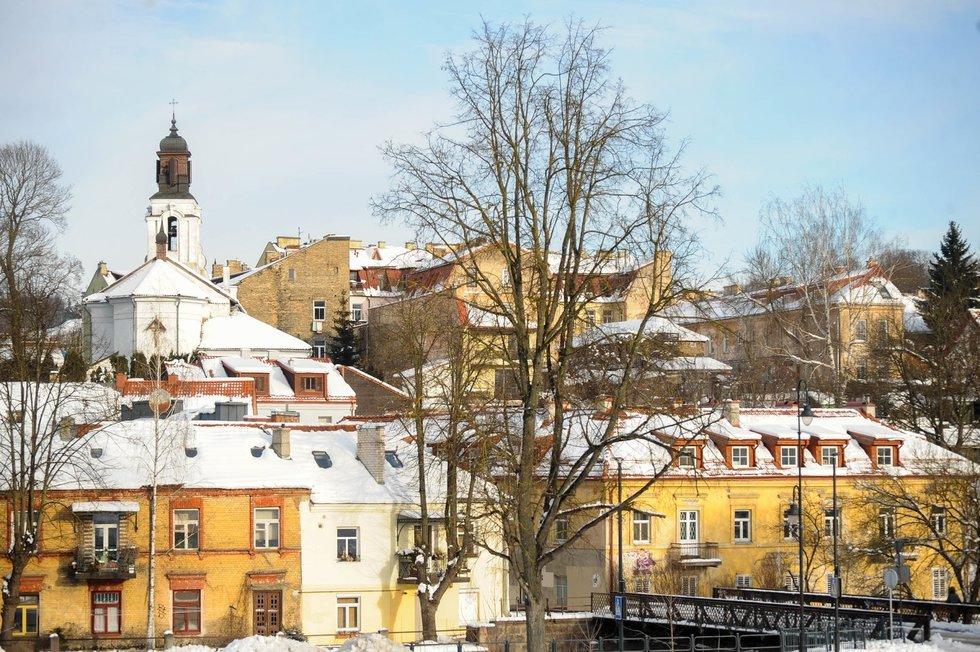Žiema sostinėje