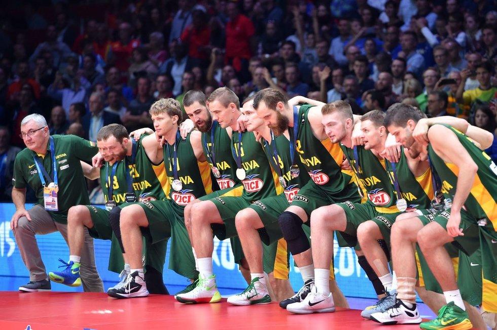 Lietuvos vyrų krepšinio rinktinė (nuotr. SCANPIX)