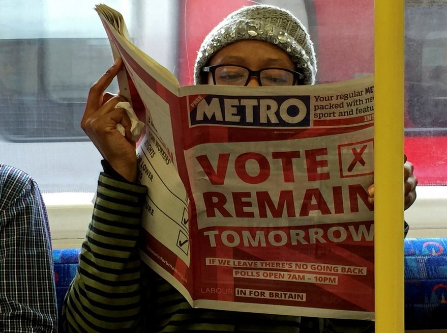 Referendumo išvakarėse Britanijos pasitraukimo iš ES šalininkai ir priešininkai susirėmė įtemptuose debatuose (nuotr. SCANPIX)